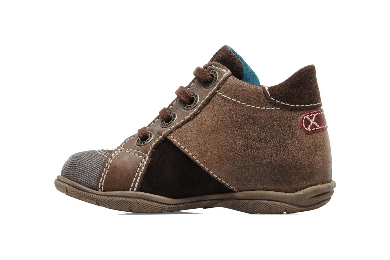 Sneakers Little Mary Opas Bruin voorkant