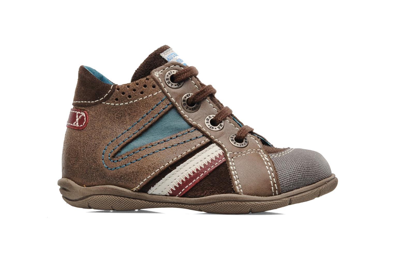 Sneakers Little Mary Opas Bruin achterkant