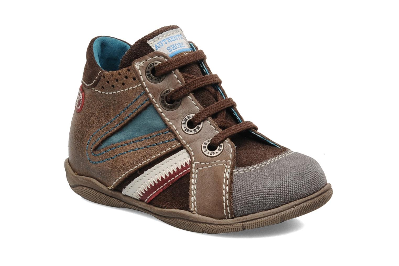 Sneakers Little Mary Opas Bruin detail
