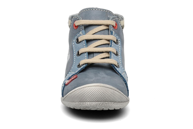 Baskets Little Mary Ouessant Bleu vue portées chaussures