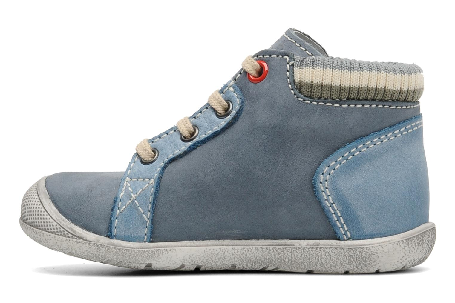 Sneakers Little Mary Ouessant Blauw voorkant