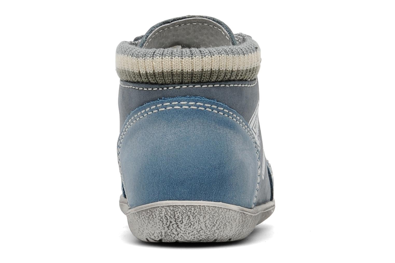 Baskets Little Mary Ouessant Bleu vue droite