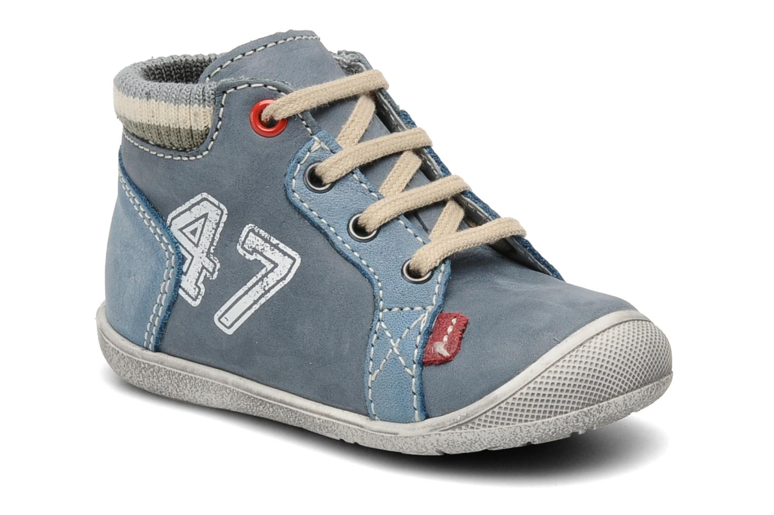 Sneakers Little Mary Ouessant Blauw detail