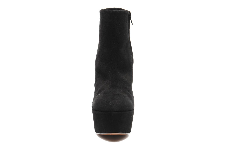 Bottines et boots Kallisté Kapom Noir vue portées chaussures