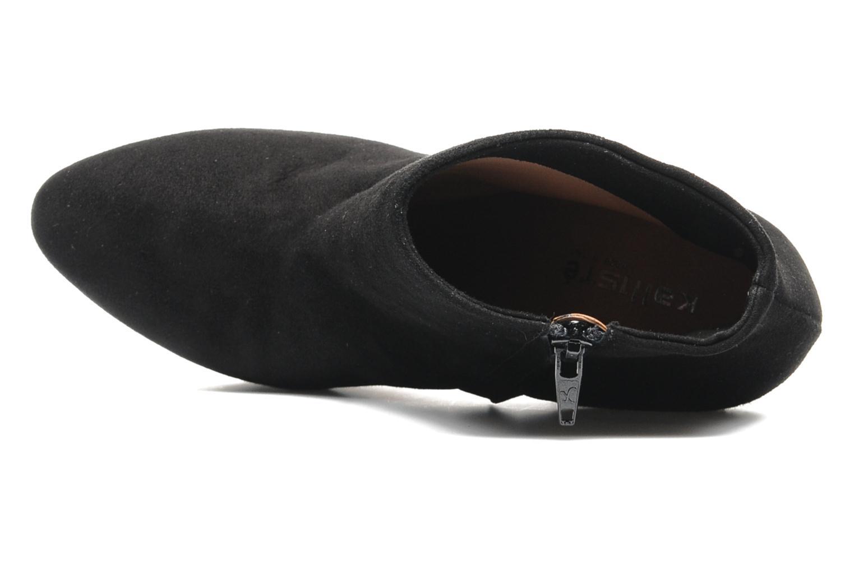 Bottines et boots Kallisté Kapom Noir vue gauche