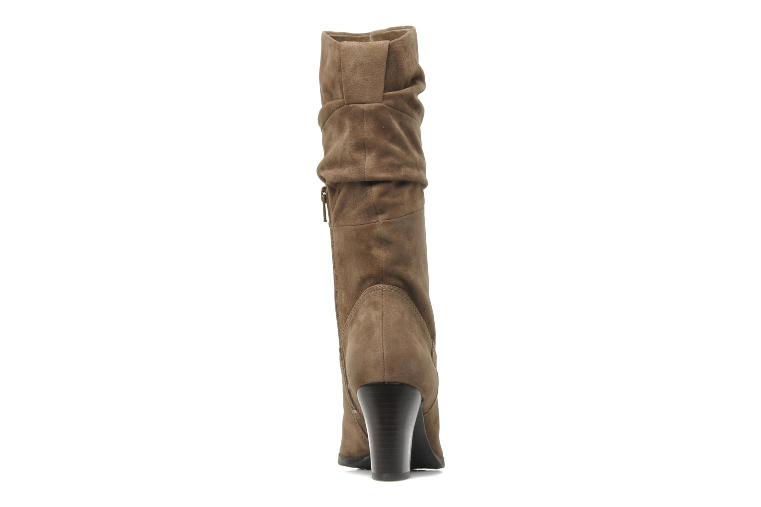 Lamont Truffle Taupe Suede Leather