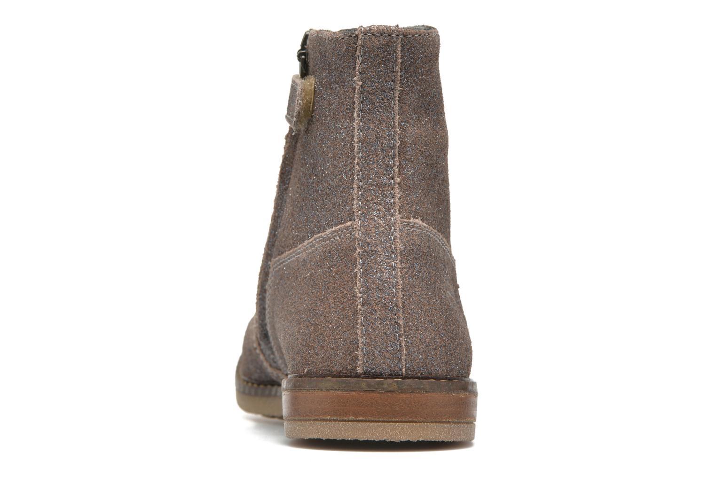 Bottines et boots Pom d Api Trip Boots Gris vue droite