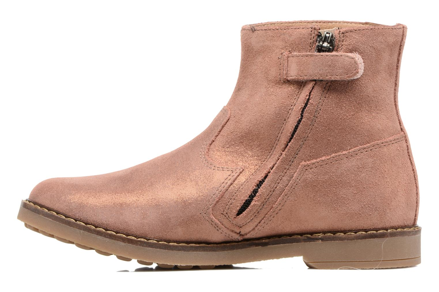 Ankle boots Pom d Api Trip Boots Brown front view