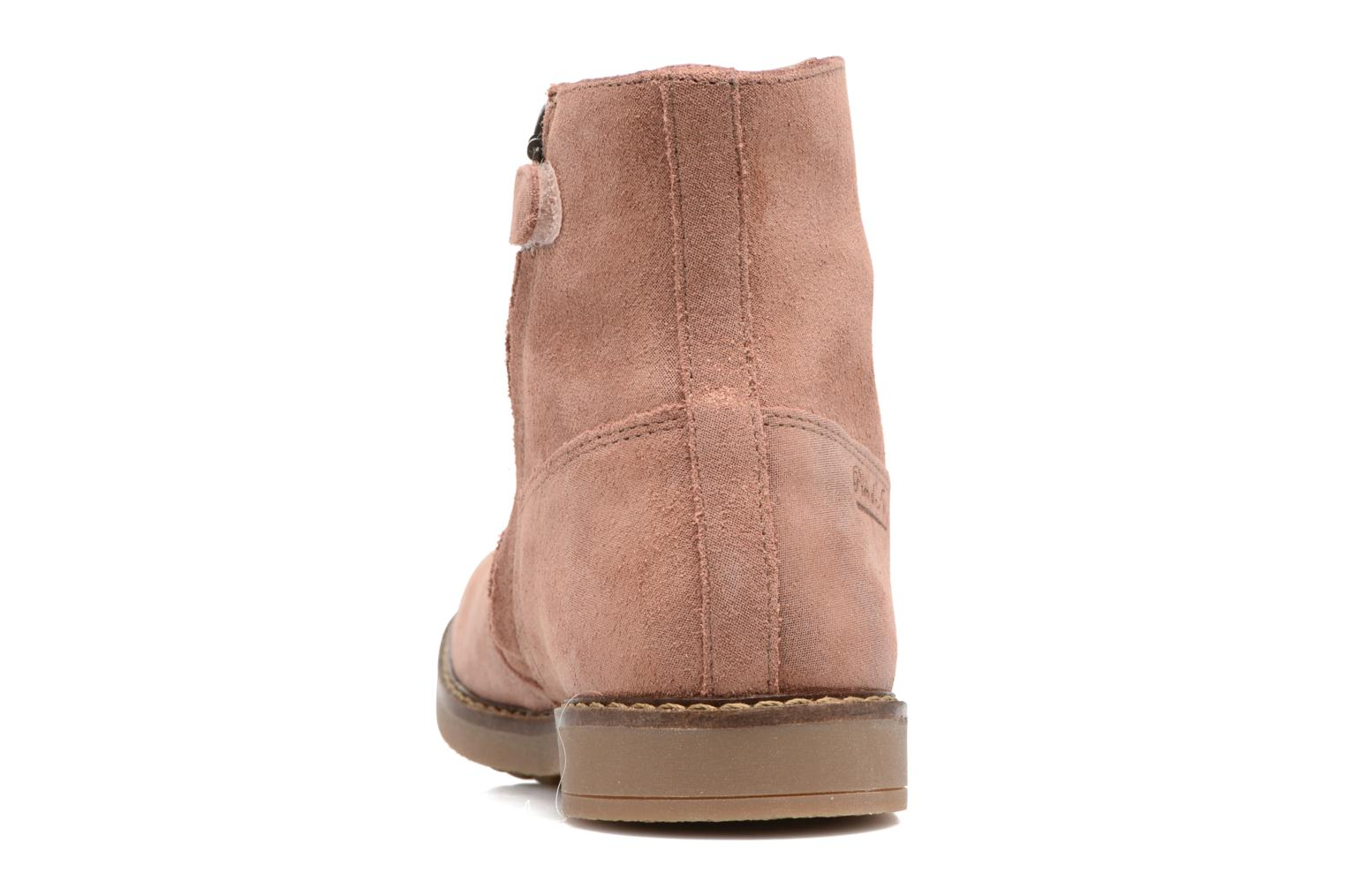 Ankle boots Pom d Api Trip Boots Brown view from the right