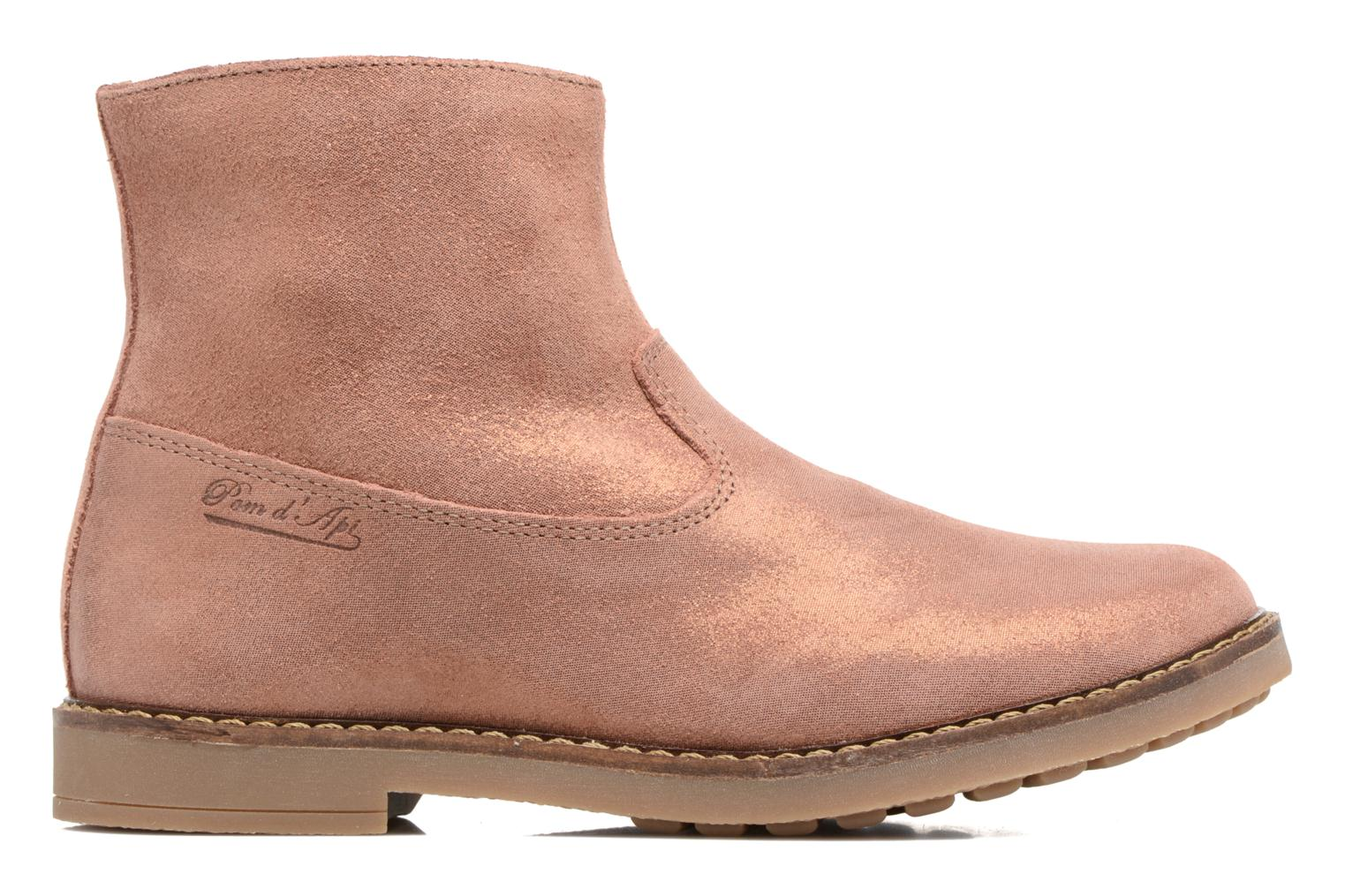 Ankle boots Pom d Api Trip Boots Brown back view