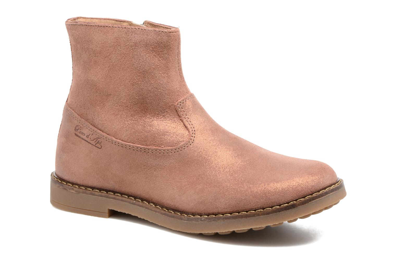 Ankle boots Pom d Api Trip Boots Brown detailed view/ Pair view