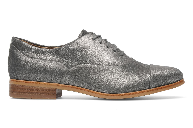 Chaussures à lacets Clarks Hotel Disco Argent vue derrière