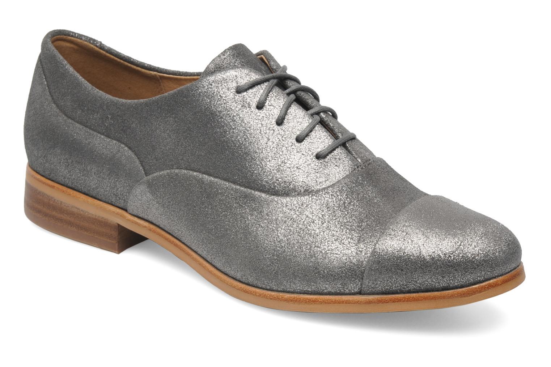 Chaussures à lacets Clarks Hotel Disco Argent vue détail/paire