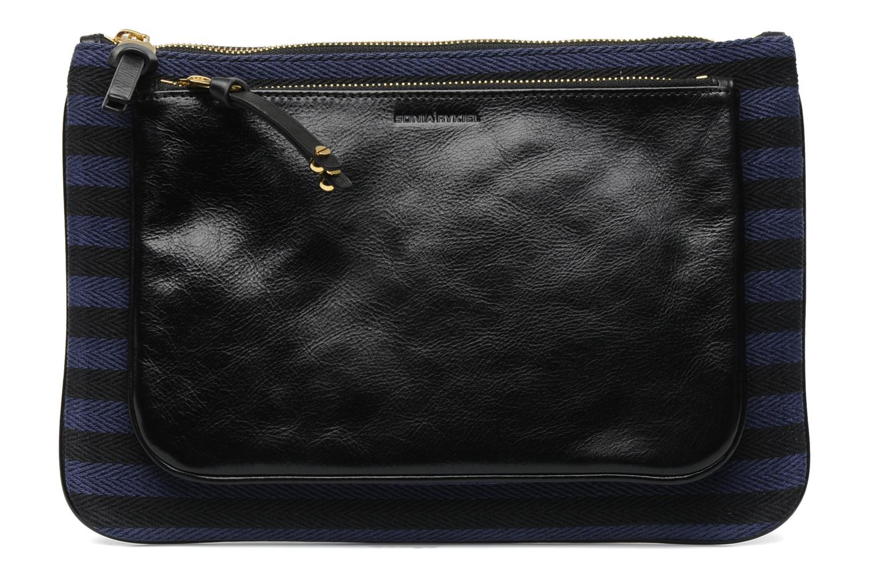 Portemonnaies & Clutches Sonia Rykiel DAUPHINE Maxi pochette blau detaillierte ansicht/modell