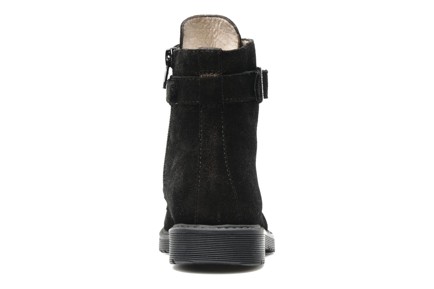 Ankle boots Unisa Meras Black view from the right