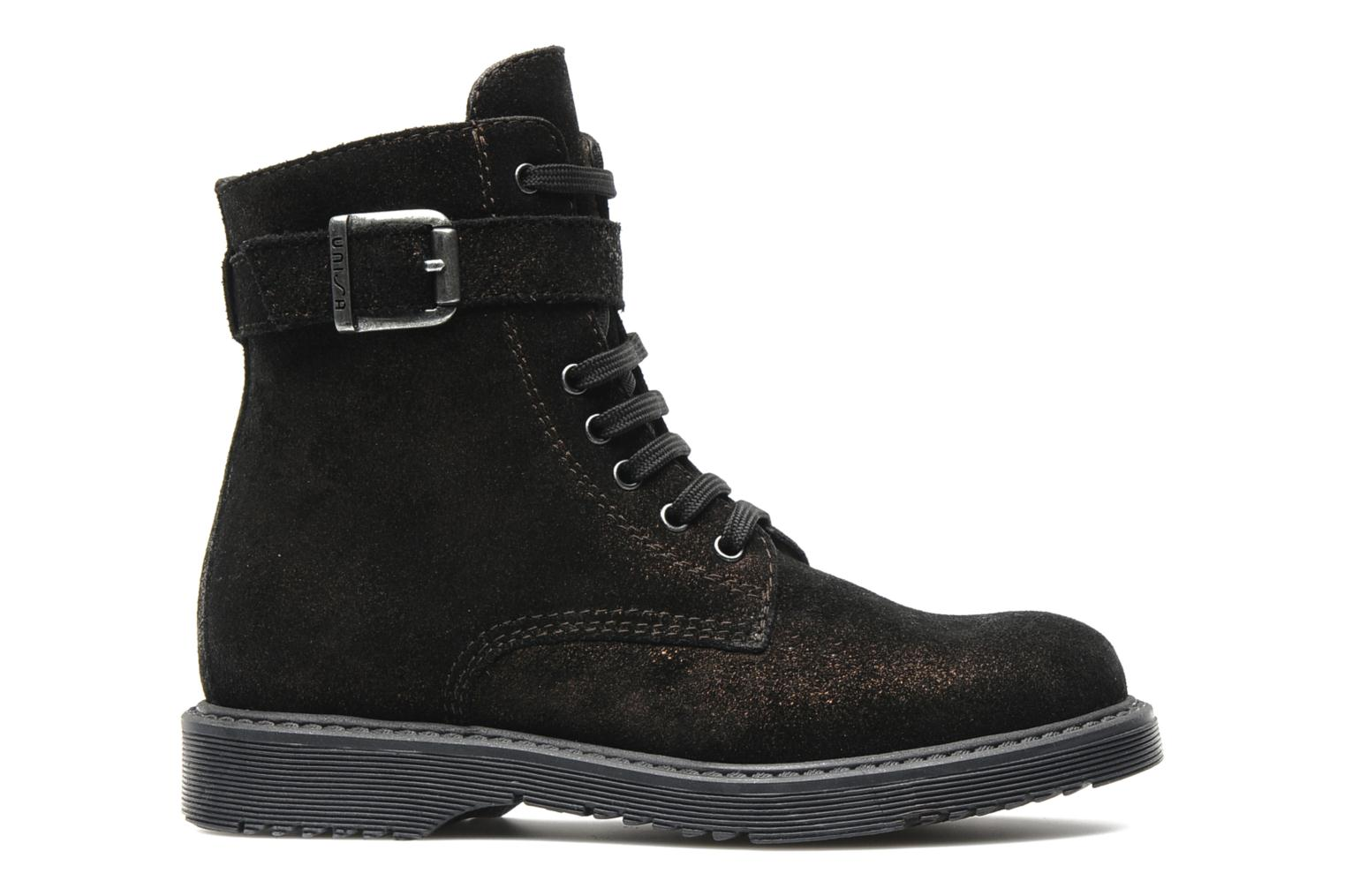 Ankle boots Unisa Meras Black back view