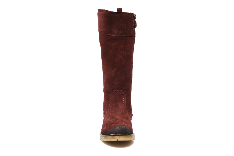 Bottes Unisa Inda Bordeaux vue portées chaussures
