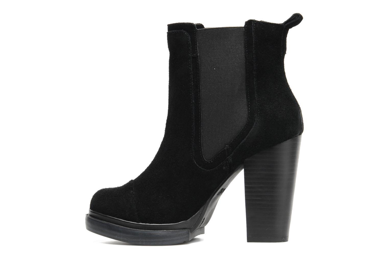 Ankle boots Bronx Cayen Black front view