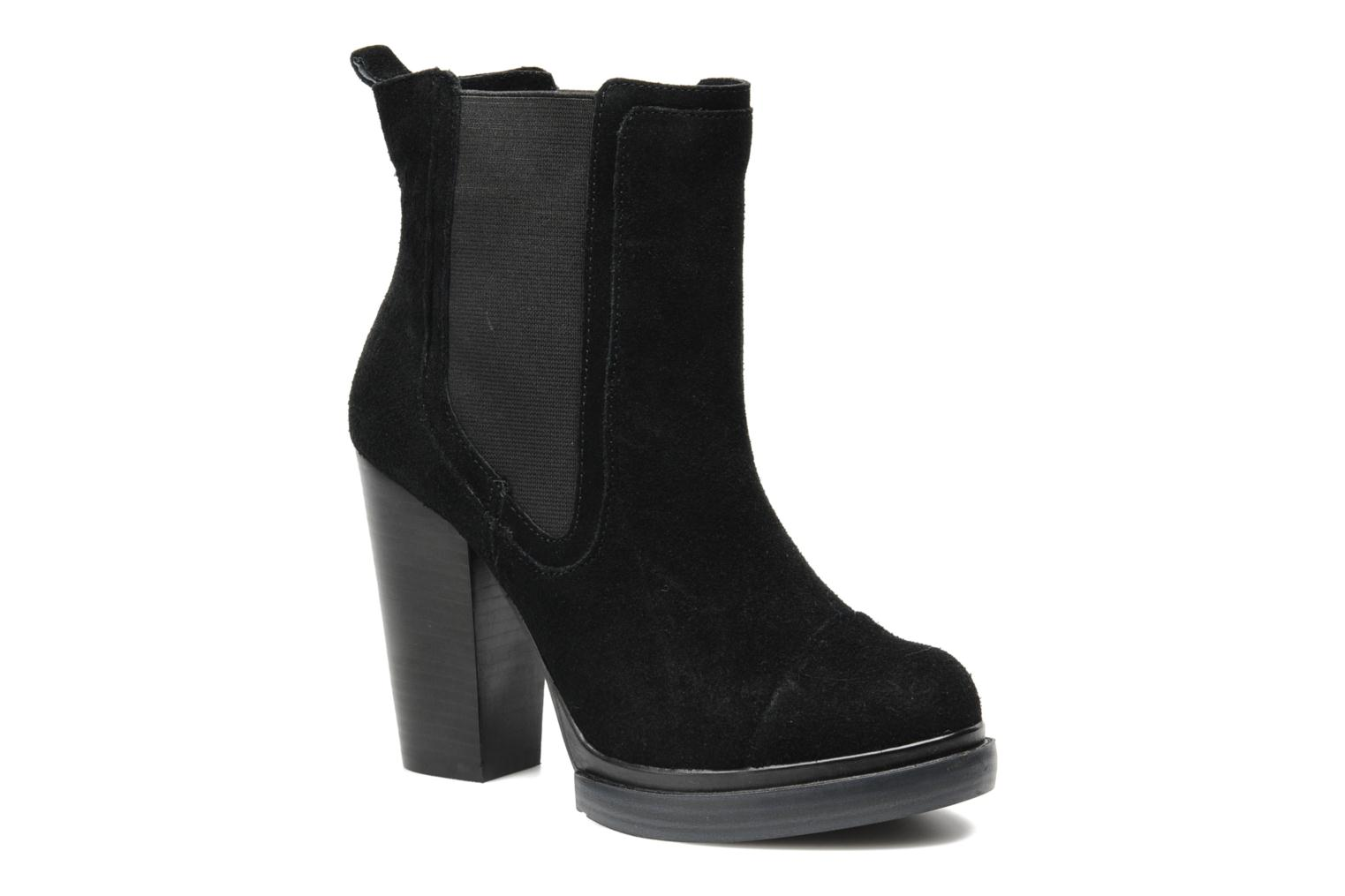 Ankle boots Bronx Cayen Black detailed view/ Pair view