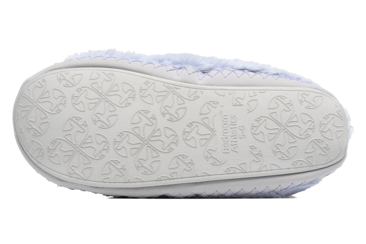 Chaussons BEDROOM ATHLETICS Monroe Bleu vue haut