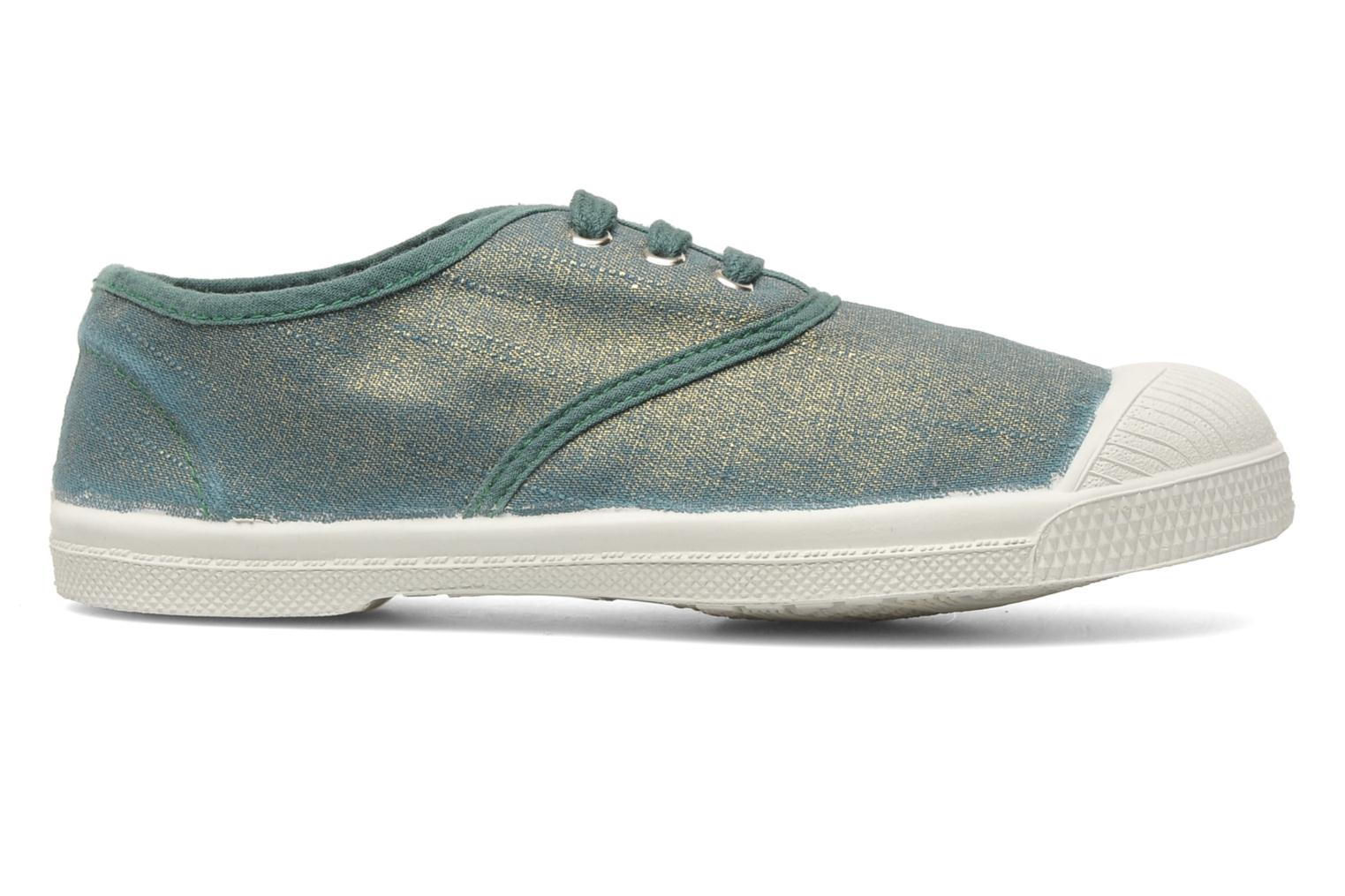 Trainers Bensimon Tennis Glossy E Green back view