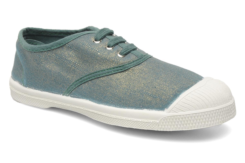Sneaker Bensimon Tennis Glossy E grün detaillierte ansicht/modell