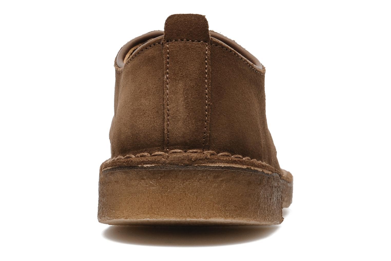 Scarpe con lacci Clarks Originals Desert London Marrone immagine destra