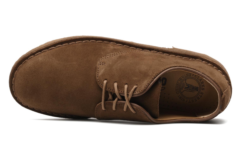 Scarpe con lacci Clarks Originals Desert London Marrone immagine sinistra