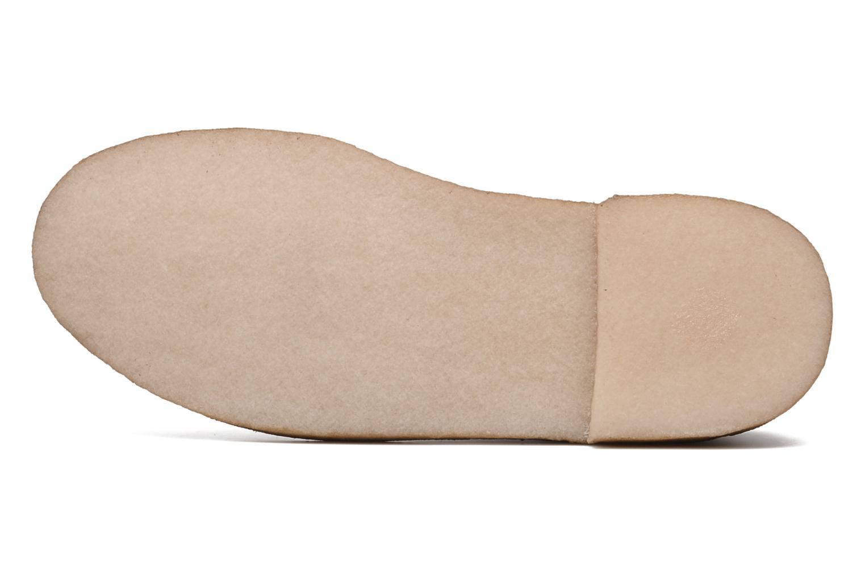 Chaussures à lacets Clarks Originals Desert London Marron vue haut