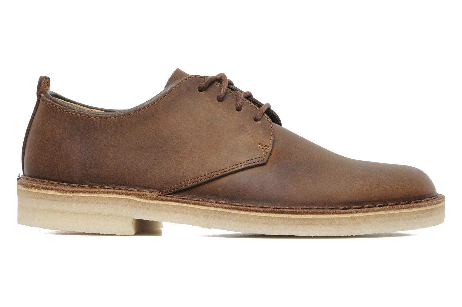 Veterschoenen Clarks Originals Desert London Bruin achterkant