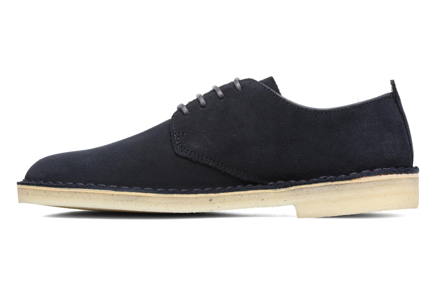 Zapatos con cordones Clarks Originals Desert London Azul vista de frente