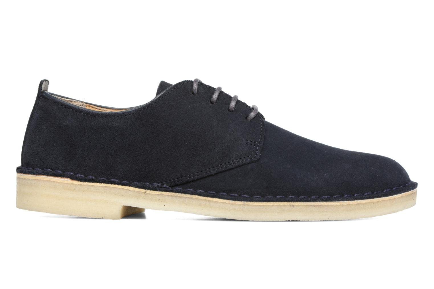 Zapatos con cordones Clarks Originals Desert London Azul vistra trasera