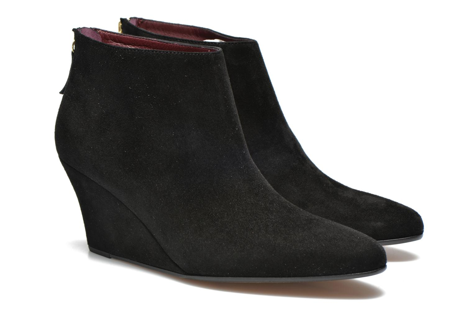 Ankle boots Avril Gau Loty Black 3/4 view