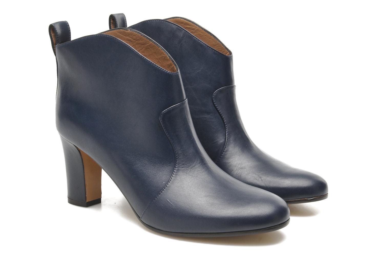 Bottines et boots Avril Gau Foxy Bleu vue 3/4