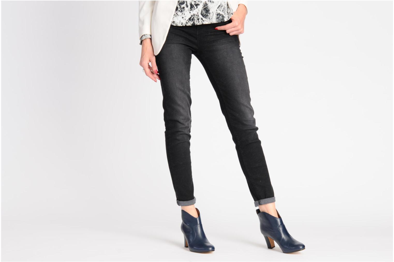 Bottines et boots Avril Gau Foxy Bleu vue bas / vue portée sac