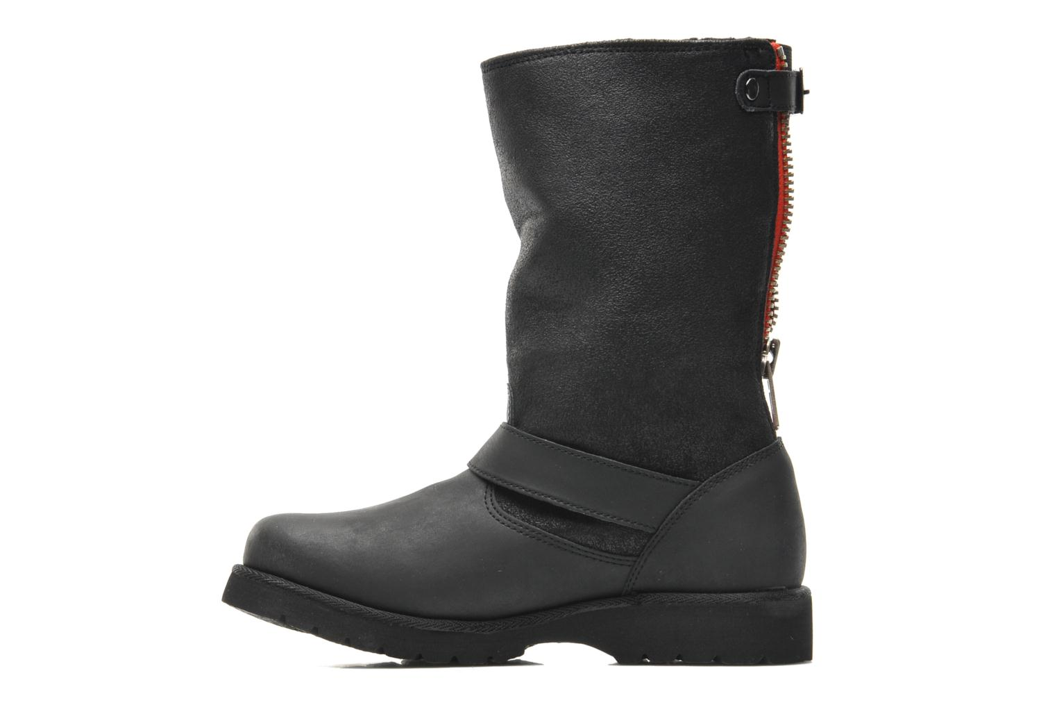 Ankle boots Buffalo Bimago Black front view