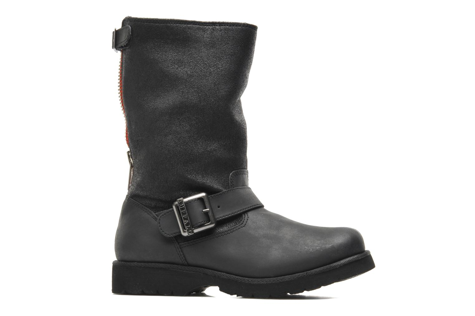 Ankle boots Buffalo Bimago Black back view
