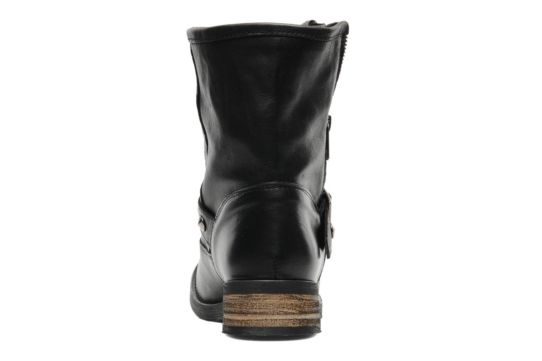 Bottines et boots Buffalo Biman Noir vue droite