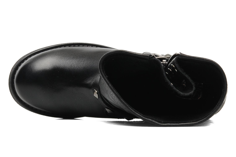 Bottines et boots Buffalo Biman Noir vue gauche