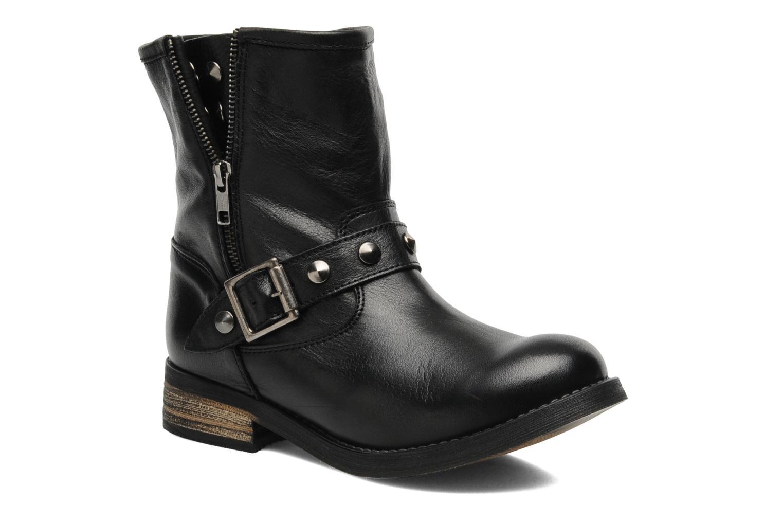 Bottines et boots Buffalo Biman Noir vue détail/paire