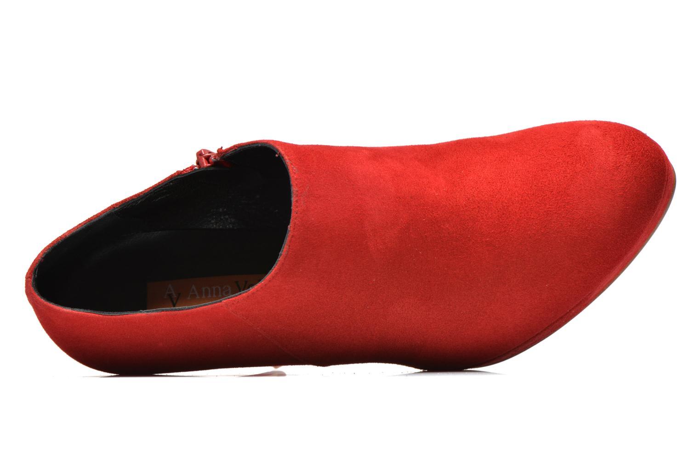Stiefeletten & Boots Anna Volodia Anabel rot ansicht von links