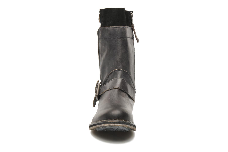 Bottines et boots Mustang shoes Natou Noir vue portées chaussures