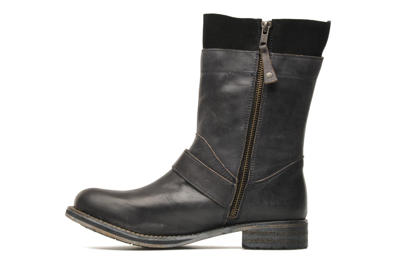 Bottines et boots Mustang shoes Natou Noir vue face