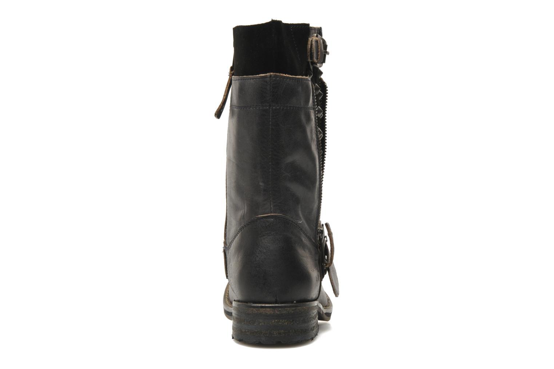 Bottines et boots Mustang shoes Natou Noir vue droite