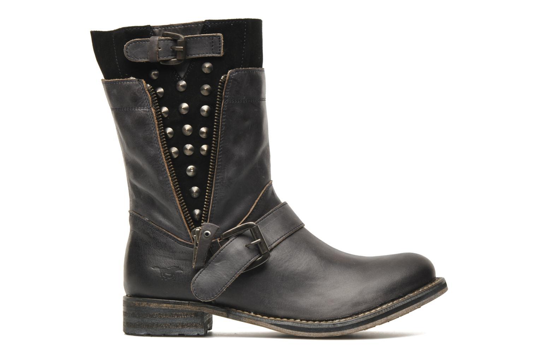 Bottines et boots Mustang shoes Natou Noir vue derrière