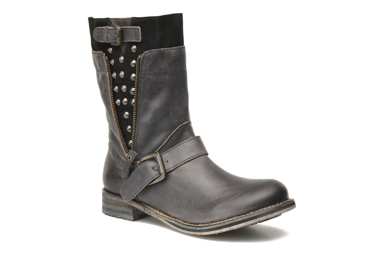 Bottines et boots Mustang shoes Natou Noir vue détail/paire