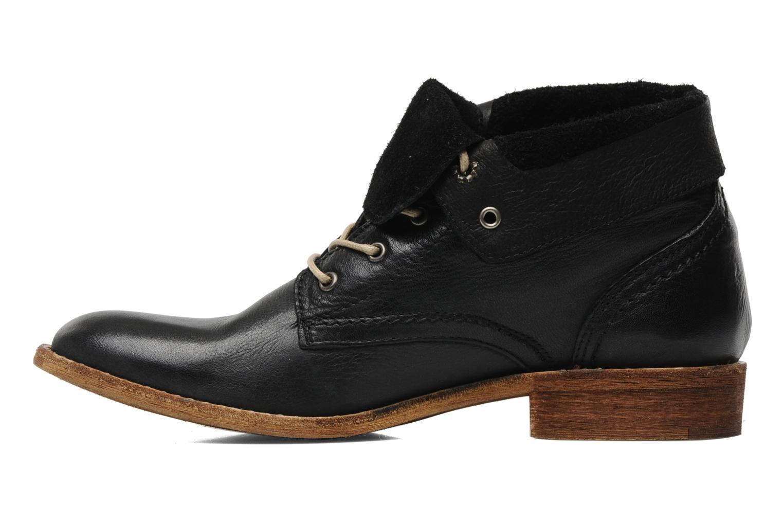 Boots en enkellaarsjes Mustang shoes Multa Zwart voorkant