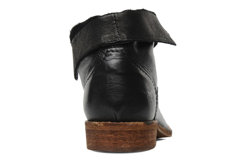 Boots en enkellaarsjes Mustang shoes Multa Zwart rechts