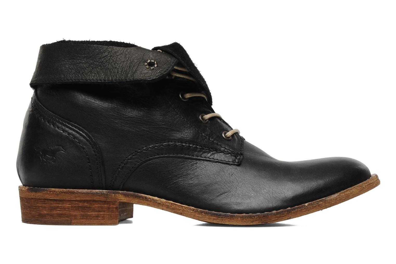Boots en enkellaarsjes Mustang shoes Multa Zwart achterkant