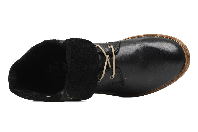 Boots en enkellaarsjes Mustang shoes Multa Zwart links